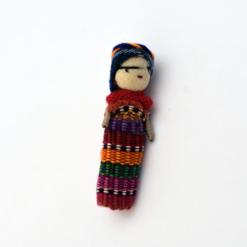 Doz. of Worry Doll Pins