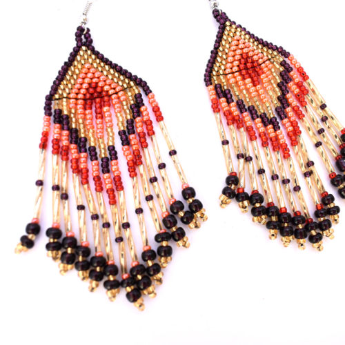 Pair of Long Tail Earrings