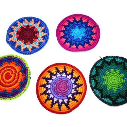Doz. of Crochet Coaster