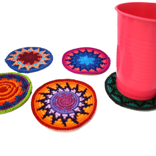 Doz. of Crochet Coaster